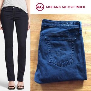 Anthro AG The Stevie Slim Straight Jeans size 30R